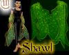 Shawl - Green and Gold