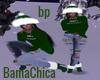 bp Christmas Boots Green