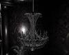 dark goth club chandelie