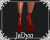 Jeri Lace Boot - Red