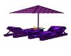 purple sun chairs