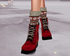 Red Lily Boots