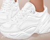f. white chunky sneakers