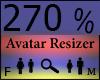Any Avatar Size270%