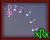 Music Note Decor Rainbow