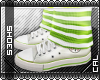 [c] Shoes: Chucks Green