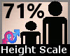 Height Scaler 71% F A