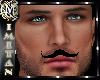 (MI) Black moustache