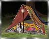 Moonlit Camping Tent