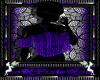 cute top dark purple