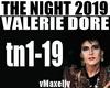 VALERIE DORE -The Night