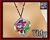 Rave Cube Ani Necklace