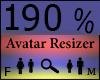 Any Avatar Size,190%