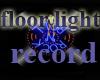 record floor light