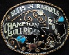 texas rodeo buckle