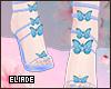 Butterfly stilettos e