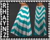 Long Summer Skirt *Aqua