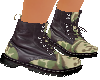 Camo & Black Boots (F)