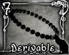 *SK* Beaded Anklet L