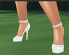 white butterfly shoes