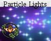 Neon Floor Particles