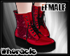 ✘Glam Boots [Cherry]