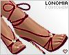 Fuchsia Laced Heels