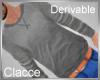 C derv sweater grey