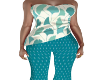 Tonya Teal Outfit