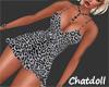 C) Sexy Leopard Dress
