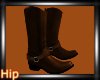 [HB] Cowgirl Boots-Brown
