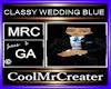 CLASSY WEDDING BLUE