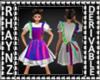 Child Ruffle Apron Dress