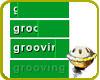 grooving status sticker