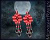 Susohiki Earings Red