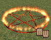 Wiccan Fire Circle