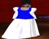 TEF BLUE WHITE CHOIRROBE