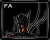 (FA)Collar Spikes Fire