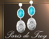 PdT Aztec EarringsSilver