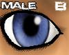 [B] Ocean Blue eyes