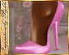 I~Hot Pink Satin Pumps