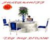 SilverBlu Wedding Table