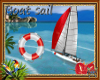 Boat  sail Aloha