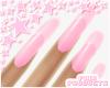 ♔ Nails e Pink
