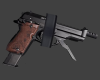 Baretta 93r - Dark Grip