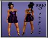 BBW Purple Rainbow dress