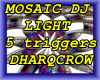 MOSAIC PSYCDELIC LIGHT
