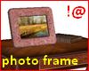 !@ Derivable photo frame