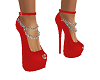 Red Chain Heels
