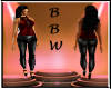 BBW Yolonda red
